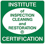 Member of the Institute of Inspection Cleaning and Restoration