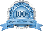 Your Satisfaction in 100% Guaranteed