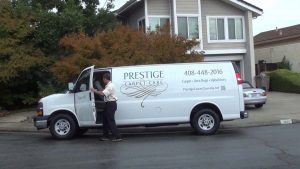 Arrival Scene For Your Carpet Cleaning Marketing Video