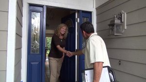 Greeting Scene For Your Carpet Cleaning Marketing Video