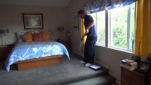 Inspect and Measure Scene For Your Carpet Cleaning Marketing Video